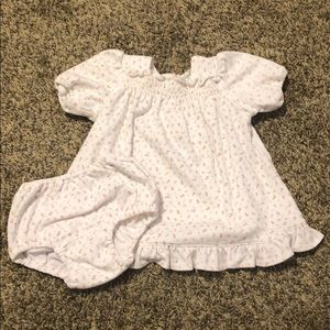 Baby Ralph Lauren cotton floral dress.